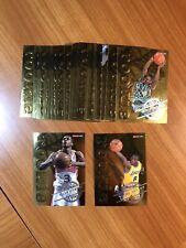 1996-97 Nba Hoops Gold Rookie Complete Insert Set Kobe Iverson