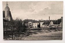 19711 AK Rochlitz Mühlplatz mit Gerichtsschänke und Mulden Wehr gelaufen 1943