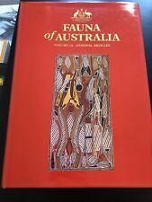 Fauna Of Australia Vol 1A General Articles