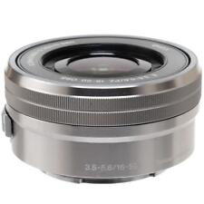 Sony 16-50mm f/3.5-5.6 OSS Alpha E-mount Retractable Lens (Silver) SELP1650
