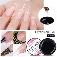 PICT YOU Extension Gel Semitransparentes Aufbau UV Gel Nail Tips Extension