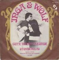 """Inga & Wolf - Gute Nacht Freunde (7"""", Single, Mono Vinyl Schallplatte - 1885"""