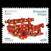 """Azores 2015 - EUROPA Stamps """"Old Toys"""" - Sc 569 MNH"""