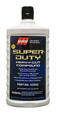 Malco Super Duty Heavy-Cut Buffing Compound safe for Fiberglass & Gel Coat 32 oz