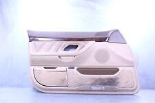 95-01 BMW E38 740i 740iL 750iL FRONT LEFT DRIVER DOOR INTERIOR PANEL TAN SAND