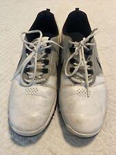 Nike explorer size 12 golf shoe white