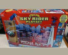 Spider-Man Sky Rider PlaySet Toy Biz Marvel Hero Action Figure Set 2002 #70055