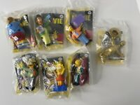 The Simpsons Movie Burger King Toy Lot Of 7 2007 Brand New
