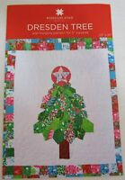 "Dresden Tree Wall Hanging Pattern for 5"" Squares New by MSQC 33"" x 37"" New"