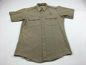 Horace Small Deputy Mens 15 1/2 Professional Apparel Uniform Short Sleeve Shirt