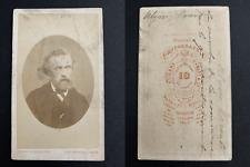 Carjat, Paris, le peintre Ulysse Parent, Commune de Paris Vintage albumen print,