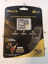 PNY 2GB MicroSD Cell Phone Flash Memory (P-SDU2GB-EB/BGRQQ)