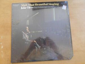 JAKE HESS AIN'T THAT BEAUTIFUL SINGING RCA LSP-4329 STEREO VINYL LP, 1970 SHRINK
