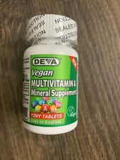 Deva Vegan Multivitamin & Mineral Supplement 90 Tablets Exp 12/20