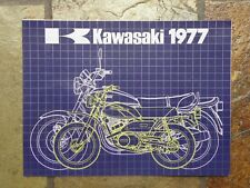 Kawasaki 1977 Range  Sales Brochure, 1979 Original NOS