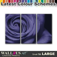 Roses Love Flowers FLORAL  Canvas Print Framed Photo Picture Wall Artwork WA