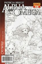 Patricia Briggs' ALPHA and OMEGA #1 Cry Wolf Sketch RARE VARIANT 2010