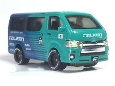 1/64 scale Toyota Hiace Falken diecast - Loose (without box) - same Tomica size