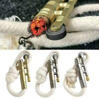 Sailors windproof Trench Sheppard's Lighters WWII Lighter Gifts Rope Navy T6K8