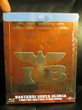 Inglourious Basterds Blu-Ray Steelbook Region Free Sealed Embossed Tarantino