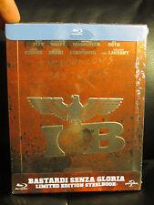 Inglourious Basterds Blu-Ray Steelbook Region Free Sealed Embossed Tarantino