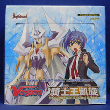 Cardfight Vanguard TRIUMPHANT RETURN OF THE KING OF KNIGHTS Sealed Booster Box