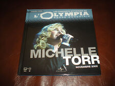 LES CONCERTS MYTHIQUES DE L'OLYMPIA MICHELLE TORR 2002 - LIVRE + CD