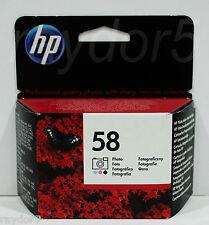HP 58 Photo Genuine Deskjet Officejet PSC Ink Cartridge Apr 16 C6658AE - VAT INC