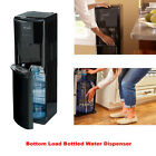 Hot Cold Water Dispenser 5 Gallon Bottom Load Stainless Steel Office Cooler Heat