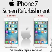"Genuine iPhone 7 4.7"" Outer Glass Screen Digitiser Repair REFURBISHMENT Service"