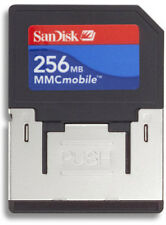 256MB Sandisk RSMY4L-0256S MMC Mobile Multimedia Memory Card with extender