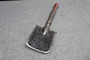 Vintage Shovel   50-60 Dates Army Military black