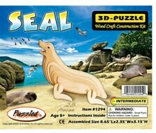 Holzbausatz Seehund - 3D Puzzle