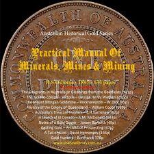 CD - Gold History - Manual of Mines & Mining - H.S.Osborne + 10 Bonus Ebooks