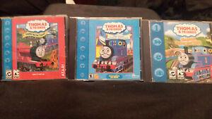 3 Thomas & Friends PC CD-Roms