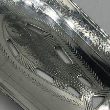 Scottish silver fish slice Glasgow 1834 156 grams