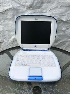 Apple iBook G3 Clamshell - 366MHz - Indigo/Dark Blue - Working