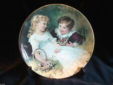 COALPORT PEARS PLAQUE COLLECTOR'S PLATE 'SWEETHEART' by FRED MORGAN