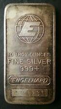Engelhard 10oz Silver Bar