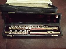Yamaha Professional Type K Flute YFL-674 925 Sterling Silver open holed