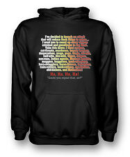 I've decided to launch an attack - - Blazing Saddles  - Mens Hoodie