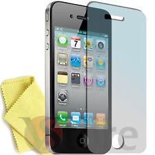 5 Pellicola Per iPhone 4S 4 Proteggi Salva Schermo Display Apple Fronte + Panno