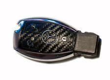 Mercedes E W211 W212 W207 AMG Brabus carbon fiber look key sticker