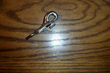 UNBRANDED STEEL FIXED SNAP HOOK 3-1/2  INCH FOR ROPE OR STRAP 3/8 IN SNAP EYE