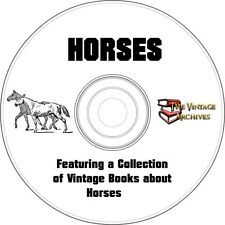 Horses - Vintage Book Collection on CD