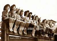 12 COWGIRLS COWGIRL OF WILLITS CA CALIFORNIA RODEO ROUND-UP PHOTO