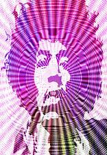 Jimi Hendrix - Haze - Retro A3 Art Poster Print