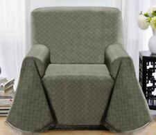 BLUE---MATRIX CHAIR THROW COVER--ALSO COMES IN BROWN & GREYISH GREEN-A GREAT BUY