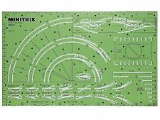 Minitrix 66600 - Gleisschablone - Spur N - NEU