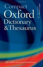 Compact Oxford Dictionary and Thesaurus, Waite, Hawker, (EDT) 9780199558476..